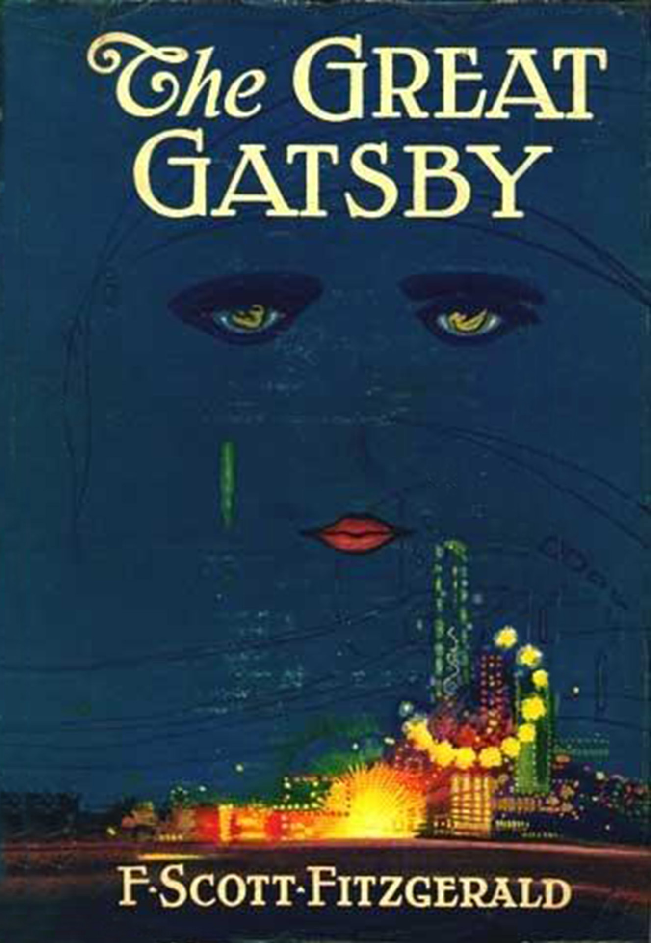 Frontispiece from The Great Gatsby (1925)