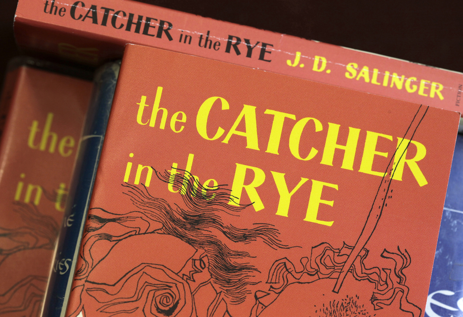 Frontispiece of J. D. Salinger's The Catcher in the Rye (1951)
